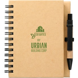 Eco Stone Notebook with Pen (70 Sheets)