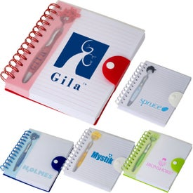 Emoti MopToppers Pen and Notebook Set (180 Sheets)