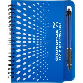 """Far Away Notebook with Pen (5"""" x 7"""")"""