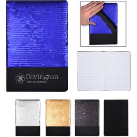 Flip Sequin Notebook