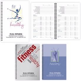 Food and Fitness Notebook (50 Sheets)