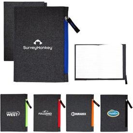 G Line Zippered Notebook