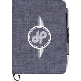 """Heathered Bound Notebook (5"""" x 7"""")"""