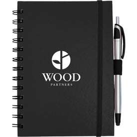 Inspiration Spiral Notebook with Pen Stylus