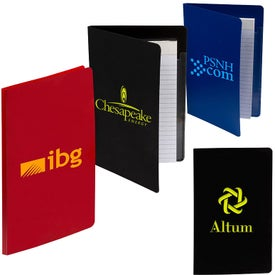Junior PP Folders with Writing Pad (30 Sheets)