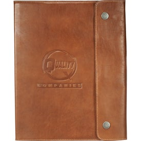 Leather Refillable Journal (80 Sheets)