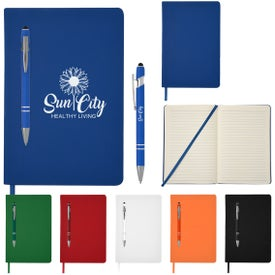 Magnetism Journal and Incline Stylus Pens (80 Sheets)