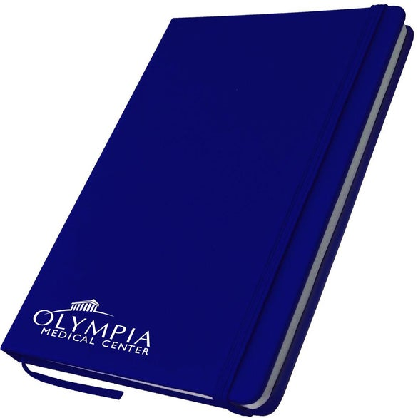 Blue Medium PVC Notebook