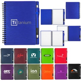Mercury Notebook and Stylus (70 Sheets)
