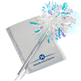 Mini Glitter Book with Sparkle Pen