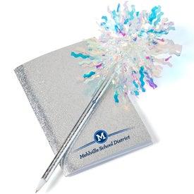 Mini Glitter Book with Sparkle Pen