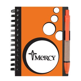 Mini Spotlight Notebook and Stylus Pen with Sticky Notes for Your Church