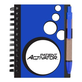 Mini Spotlight Notebook and Stylus with Pen Giveaways