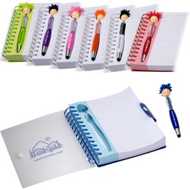MopToppers Pen and Notebook Gift Set