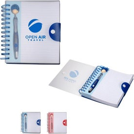 MopToppers Pen and Notebook Gift Set (180 Sheets)