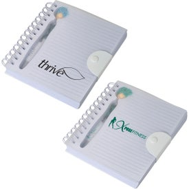 MopToppers Stethoscope Stylus Pen and Notebook Set