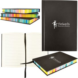 Multi Color Edge Notebook