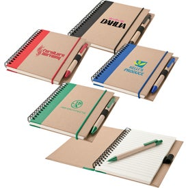 Notebook and Pen (70 Sheets)