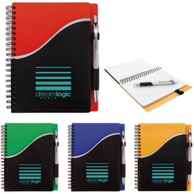 Pitch Notebook with Jive Pen (35 Sheets)