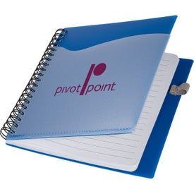 PolyPro Notebook with Clear Front Pocket (70 Sheets)