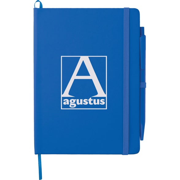 Royal Blue Prime Notebook With Pen