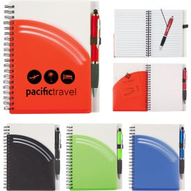 Rainbow Notebook with Pen (40 Sheets)