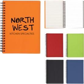 "Rubbery Spiral Notebook (5"" x 7"")"