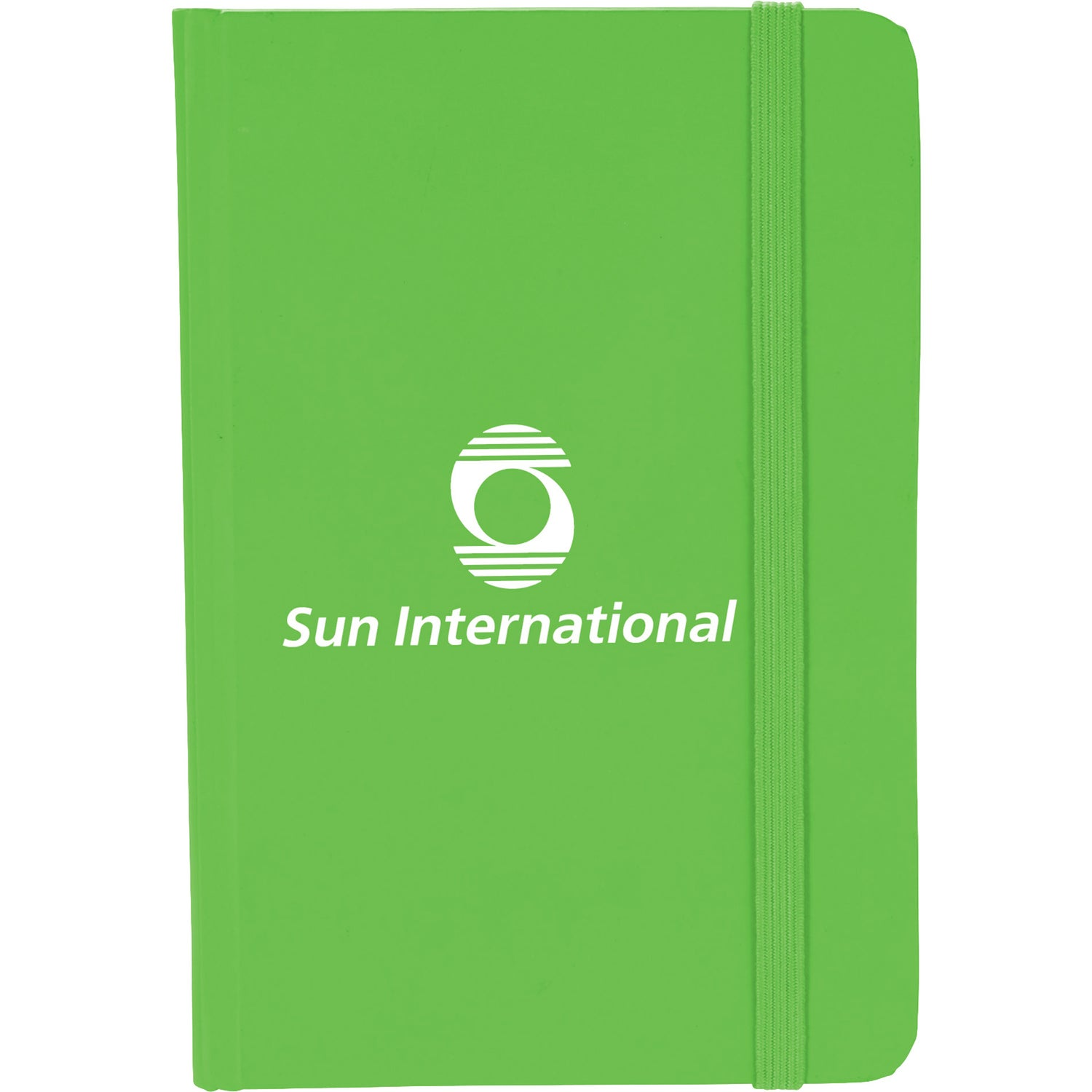 Promotional 4 X 55 Small Rainbow Notebooks With Custom Logo For Recycled Circuit Board Notebook Apple Green