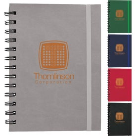 Soft Cover Spiral Notebooks (80 Sheets)