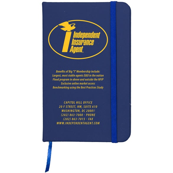 Blue Softer Jotter Notepad Notebook