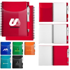 Sorbet Notebook and Pen Sets (70 Sheets)
