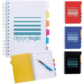 Spiral Notebook with Tabs (120 Sheets)