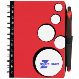 Promotional SpotLight Notebook and Stylus Pen