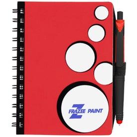 Promotional SpotLight Notebook and Stylus Pen