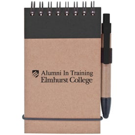 Imprinted Stylus and Recycled Notebook Combo