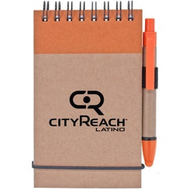 Stylus and Recycled Notebook Combo for Promotion