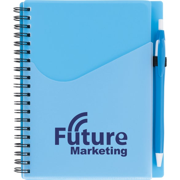 Aqua Surf Notebook with Dart Pen