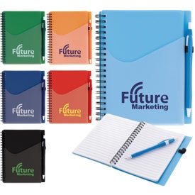 Surf Notebook with Dart Pens (80 Sheets)