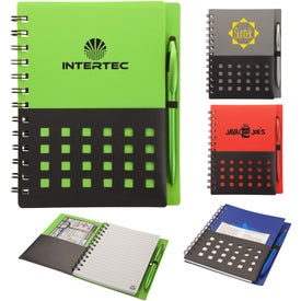 Tonga Junior Notebook and Stylus Pen