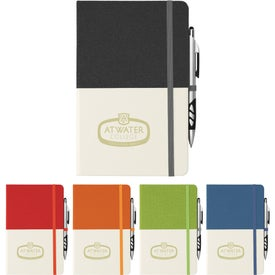 Two Tone Bound Notebooks (80 Sheets)