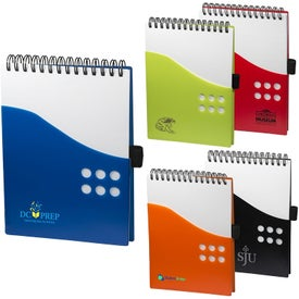 Two Tone Dot Jotter Pad