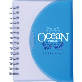 """Two-Tone Spiral Notebook (4"""" x 5 1/4"""")"""