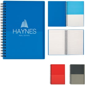 Two-Tone Notebooks (35 Sheets)