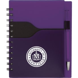 "Valley Spiral Notebook with Pen (5"" x 7"")"