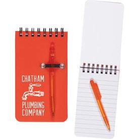 Value Mini Jotter and Pen (50 Sheets)