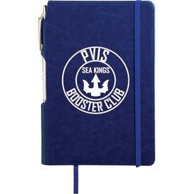 Viola Notebook with Metal Pen