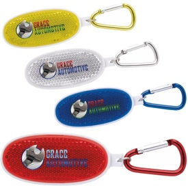 Carabiner with Reflective Screwdriver Set