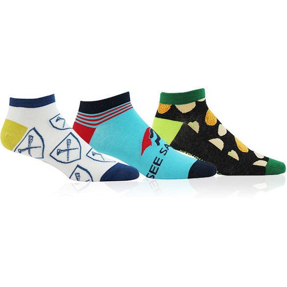 Full Color Imprint Ankle Socks