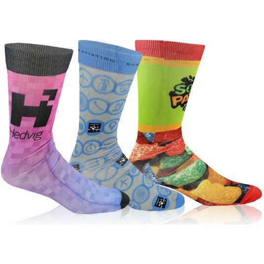 Full Color Imprint Tube Socks