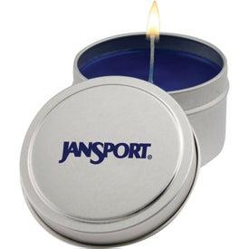 Aromatherapy Candle Tin (6 Oz.)